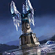 Frost Crystal Card Icon