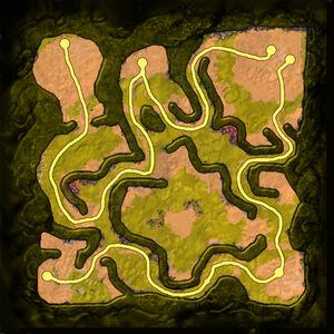 Behind Enemy Lines Minimap