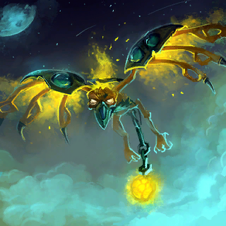 Deathglider Card Artwork