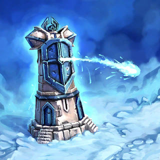 Ice Shield Tower Card Artwork