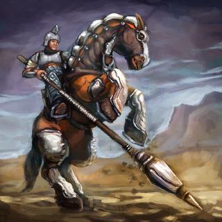 Bandit Lancer Card Artwork