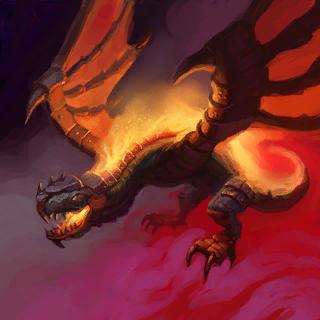 Skyfire Drake Card Artwork