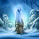 Ice Crystal Card Icon
