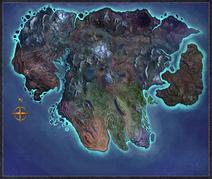 World Map Blank Artwork