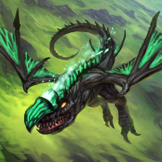 Swamp Drake (Promo) Card Artwork