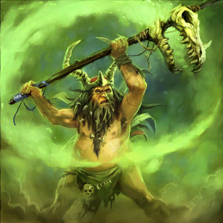 Shaman Card Artwork