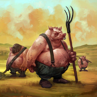 Curse of Oink Card Artwork