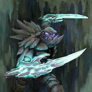 Stone Warrior Card Artwork