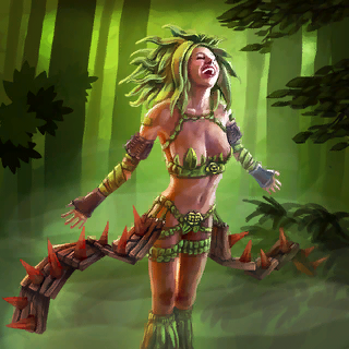 Dryad Card Artwork