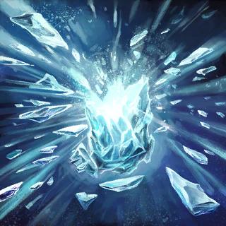 Shatter Ice Card Artwork
