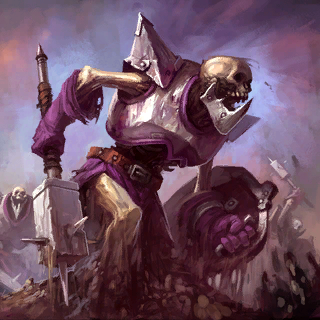 Skeleton Warriors Card Artwork