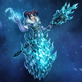 Frost Mage Card Artwork