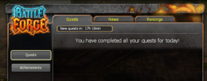 Quests completed