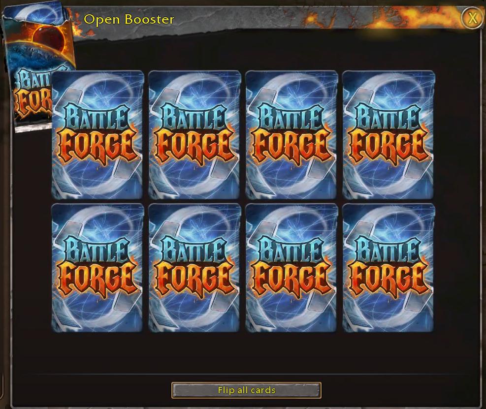 Open Booster Unopened