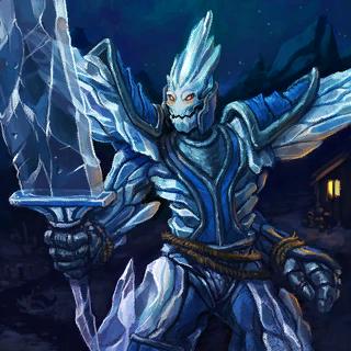Ice Guardian Card Artwork