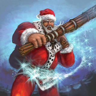 Santa Claus (Promo) Card Artwork