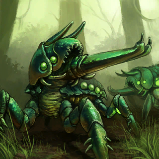 Burrower Card Artwork