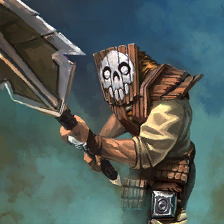 Bandit Spearmen Card Artwork