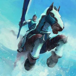 Silverwind Lancers Card Artwork