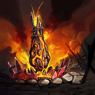 Tower of Flames Card Artwork