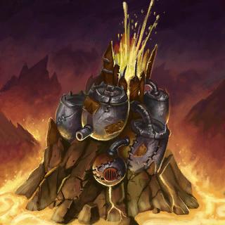 Volcano Card Artwork