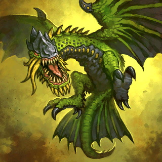 Giant Wyrm Card Artwork
