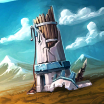 Bandit Wizard Tower Entity Artwork