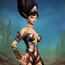 Bandit Sorceress Entity Artwork