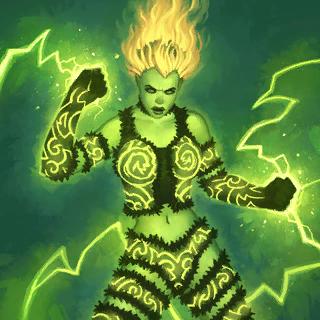 Viridya's Spirit Entity Artwork