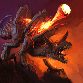 Fire Stalker Card Artwork
