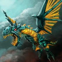 Twilight Dragon Entity Artwork