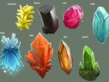 Neo Magic and Crystals