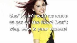 Shut Up And Dance By The Victorious Cast (Lyrics)