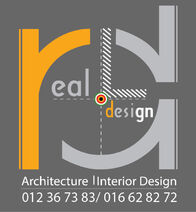 Reallinedesign Logo with phone number
