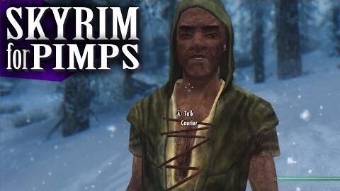 Skyrim For Pimps - Crazed Courier (S6E13) - Walkthrough - GameSocietyPimps