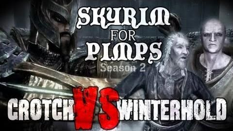 Skyrim For Pimps - Crotch VS Winterhold (S2E11) College of Winterhold Walkthrough-0