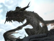 Paarthurnax tells story