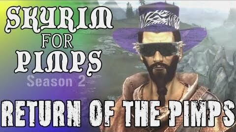 Skyrim For Pimps - A Pimp Goes to College (S2E01) College of Winterhold Walkthrough-1