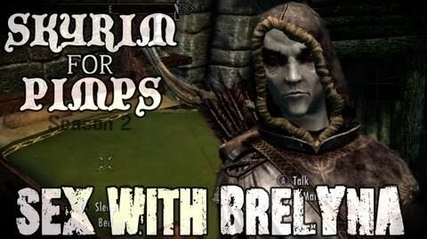 Skyrim For Pimps - Sex with Brelyna (S2E06) College of Winterhold Walkthrough-0