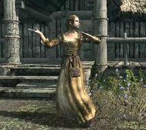 Freya dancing