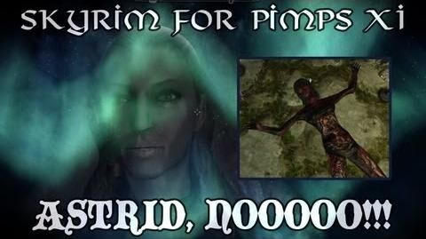 Skyrim For Pimps - Astrid?! NOOOOOOOO!!! (S1E11) Dark Brotherhood Walkthrough-0