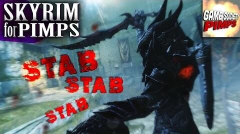 Skyrim for Pimps - Stabby White & the 7 Corpses (S6E35) - GameSocietyPimps