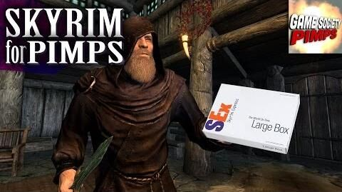 Skyrim For Pimps - SExpress Mail (S6E16) - Walkthrough - GameSocietyPimps