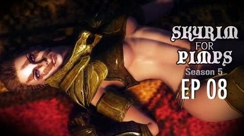 Skyrim For Pimps - Sex With Aela (S5E08) - Companions Walkthrough-0