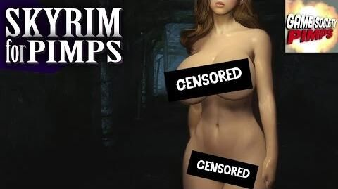 Skyrim For Pimps - Naked Cave People (S6E19) - Walkthrough - GameSocietyPimps
