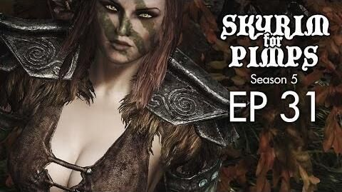 Skyrim For Pimps - After Sex With Aela (S5E31) - Walkthrough