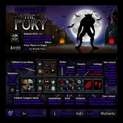 The Fury Hybrid HUD