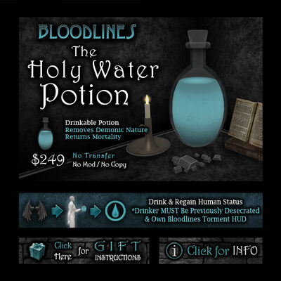 Product holywater