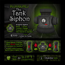Product tanksiphon