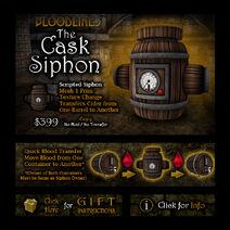Product casksiphon